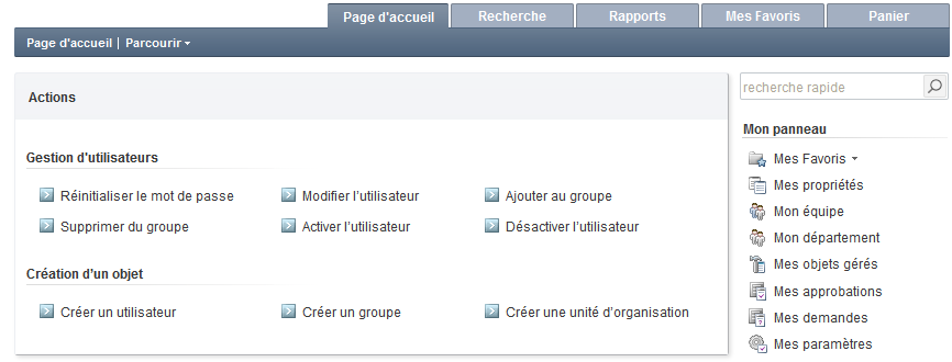 French Version of Web Interface